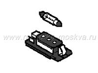 Элементы подсветки номерного знака BMW E46