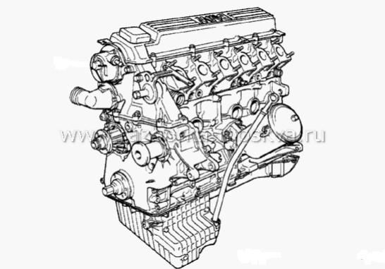 Двигатель БМВ М51