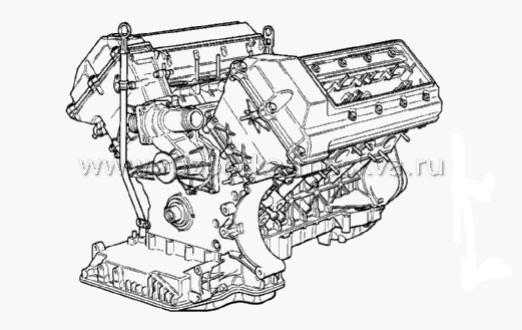 Двигатель БМВ М62